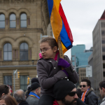 100th Anniversary Armenian Genocide Protests